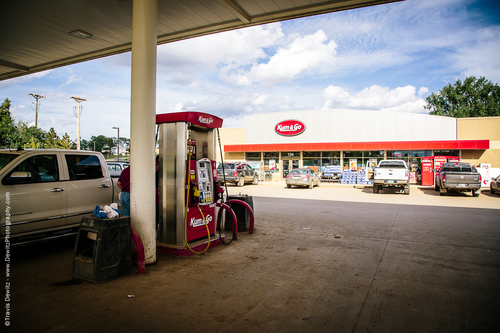 Brand New Gas Station Filthy
