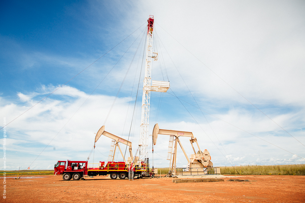 Drilling New Oil Well