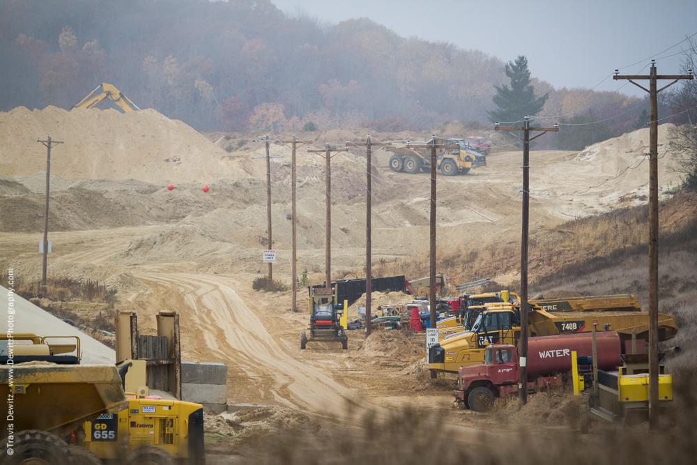Frac Sand Mine Operation - Bloomer, WI