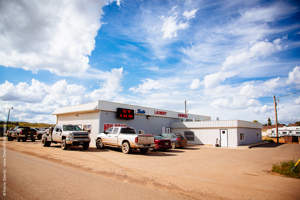 Laundry and Showers in Watford, ND