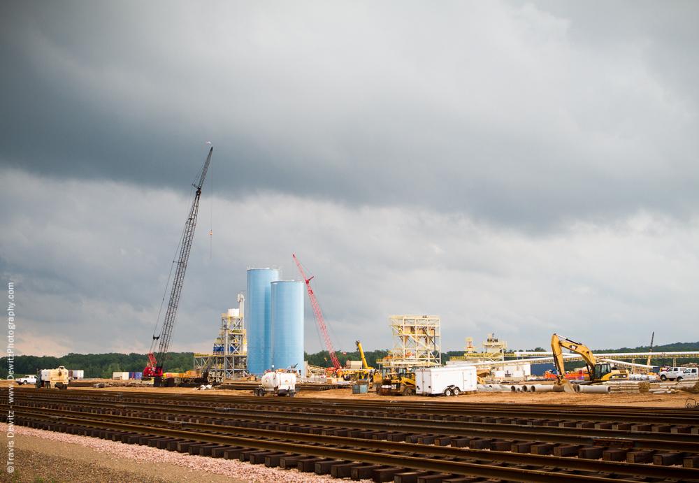 New Frac Sand Plant Construction - New Auburn, WI