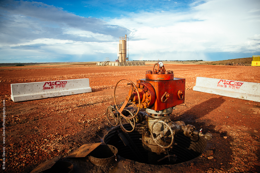 New Oil Well Site