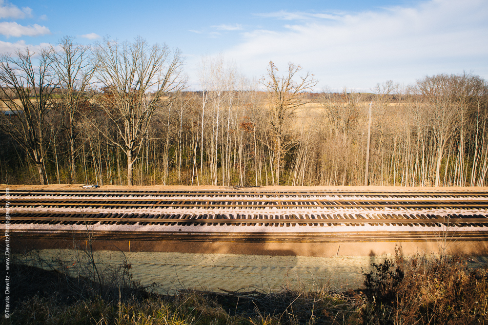 New Tracks for Superior Silica - Poskin, WI
