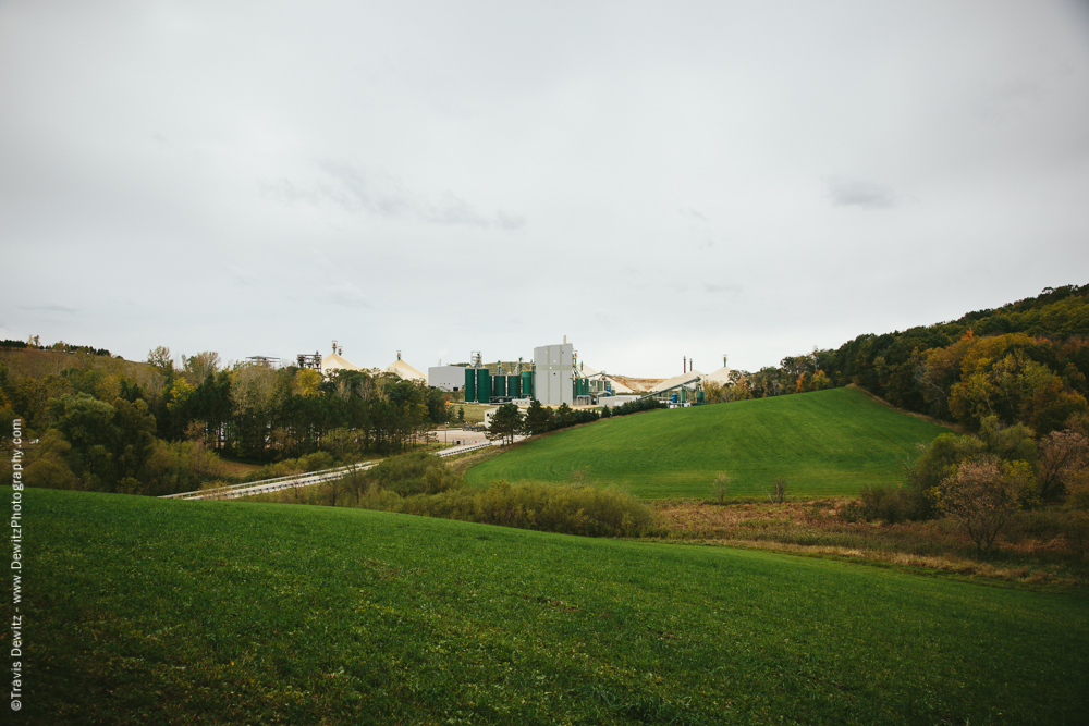 Sand Plant in the Hills Outside Taylor, WI