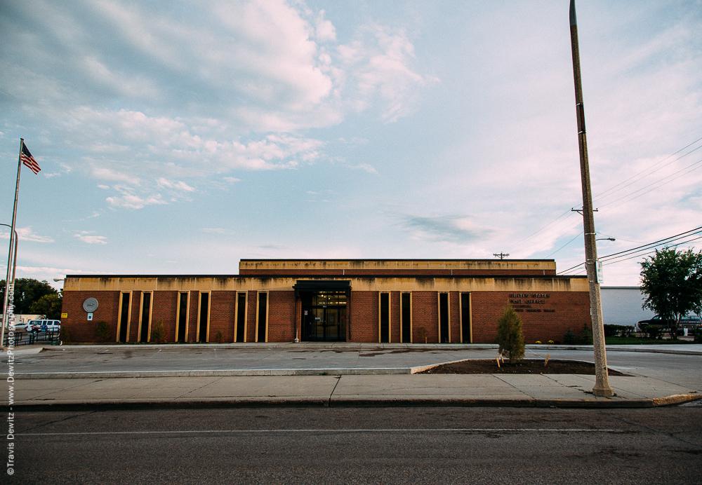 US Post Office in Williston