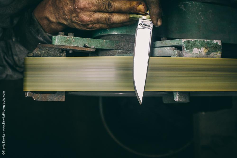Fine Sanding Knife Blade