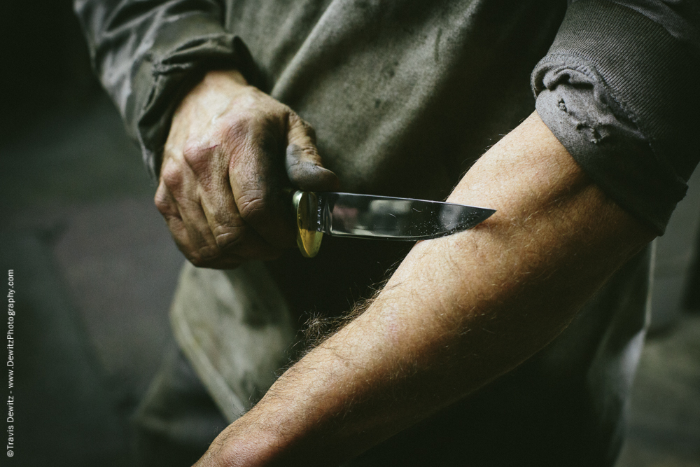 The Knife Sharpness Test