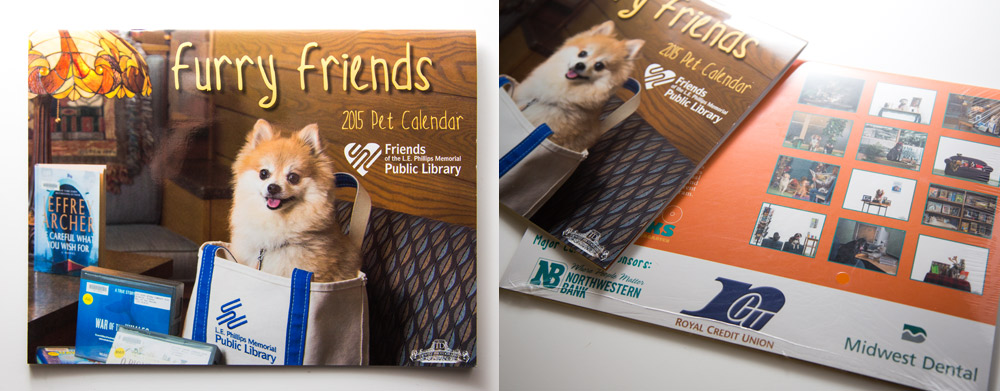 LE Phillips Furry Friends 2015 Fundraiser Pet Calendar