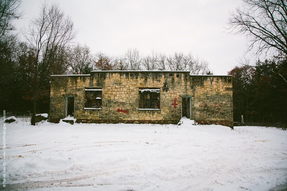 Chippewa Falls- Abandoned Building by Glen Loch
