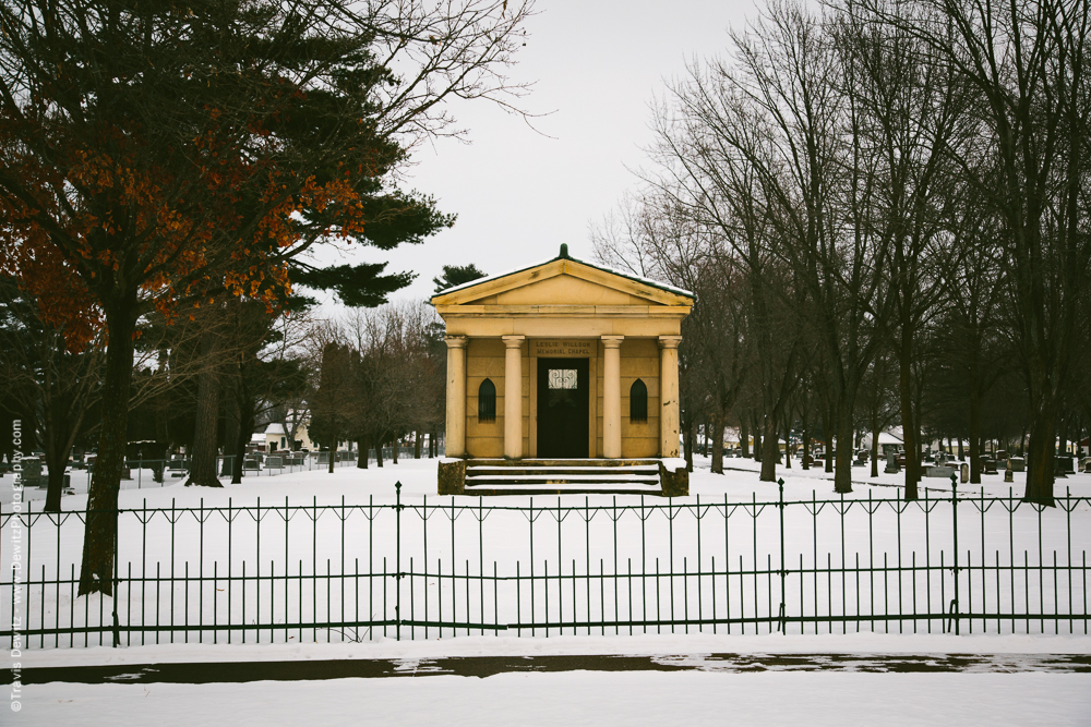 Forest Hill Cemetery Leslie Willson Memorial Chapel