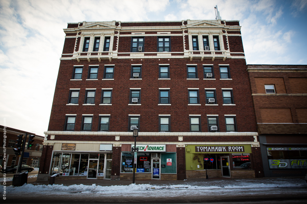 Chippewa Falls- Hotel Northern BPOE Building - Anderson Jewelers - Tomahawk Room