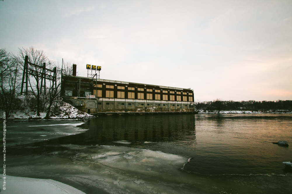 Chippewa Falls- NSP Hydro Power Plant on Chippewa River