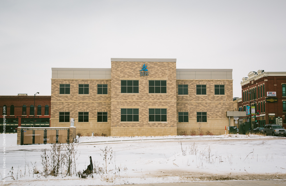 Chippewa Falls- New SEH Building Downtown