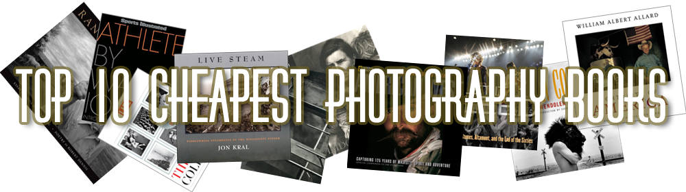 Top 10 Cheapest Photography Books Header
