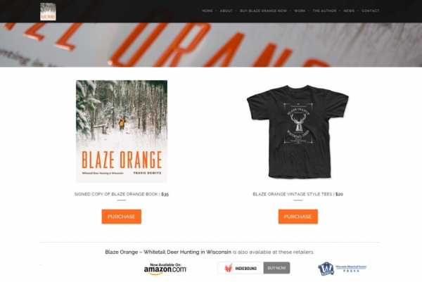Blaze Orange Book Store