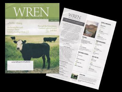 Wren Magazine Cover Photo