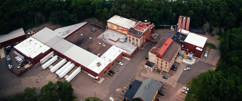 Aerial Photography Factory Complex Chippewa Falls Wis