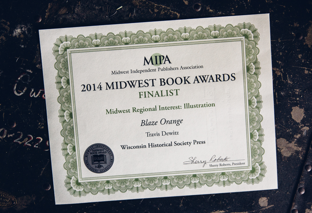 2014 Midwest Book Awards Finalist Certificate