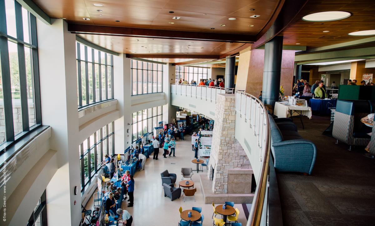 UWEC Davies Center Interior Booth Events
