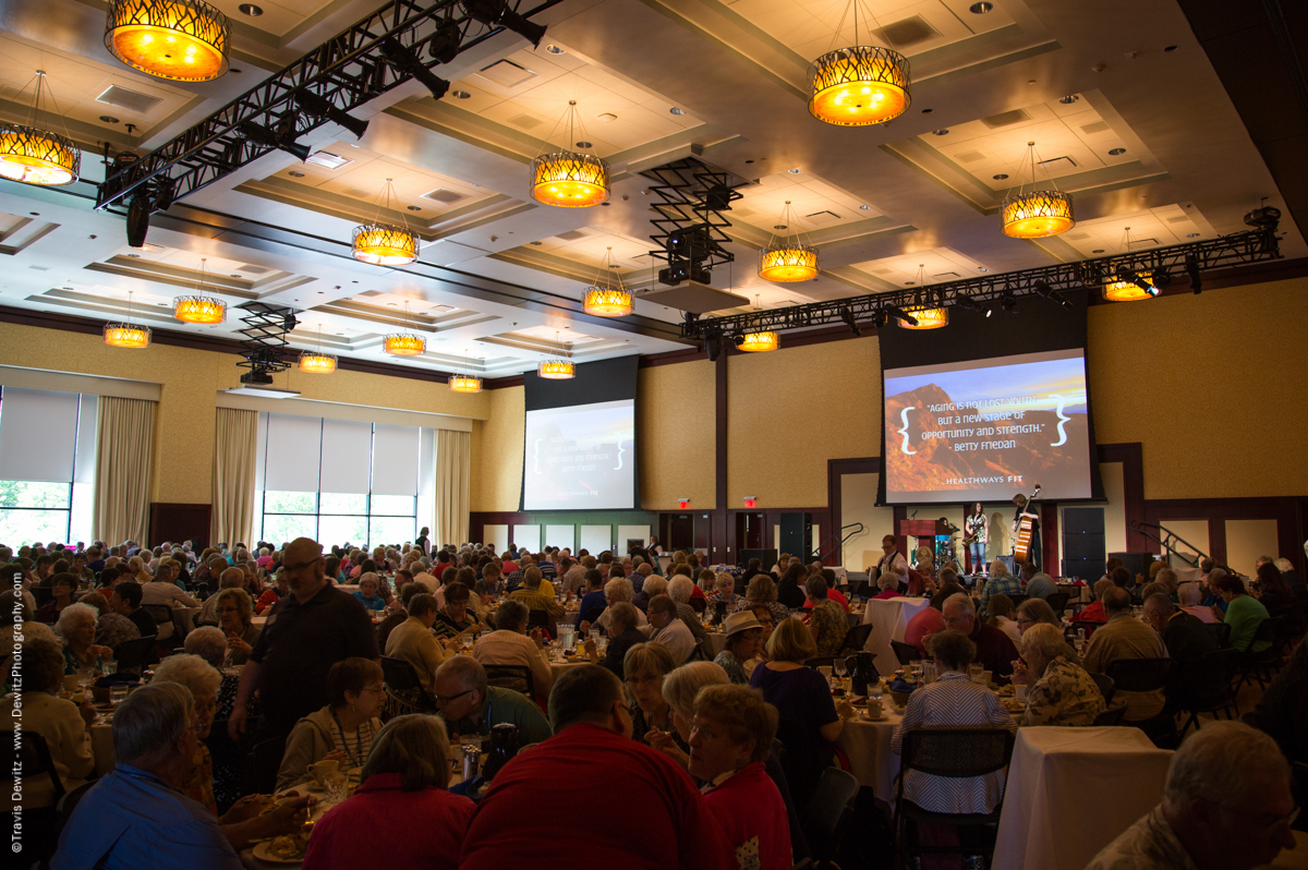 UWEC Senior American Day Banquet Hall