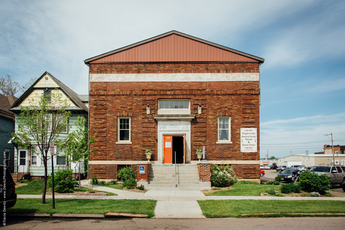 Douglas County Historical Society Vasa Temple