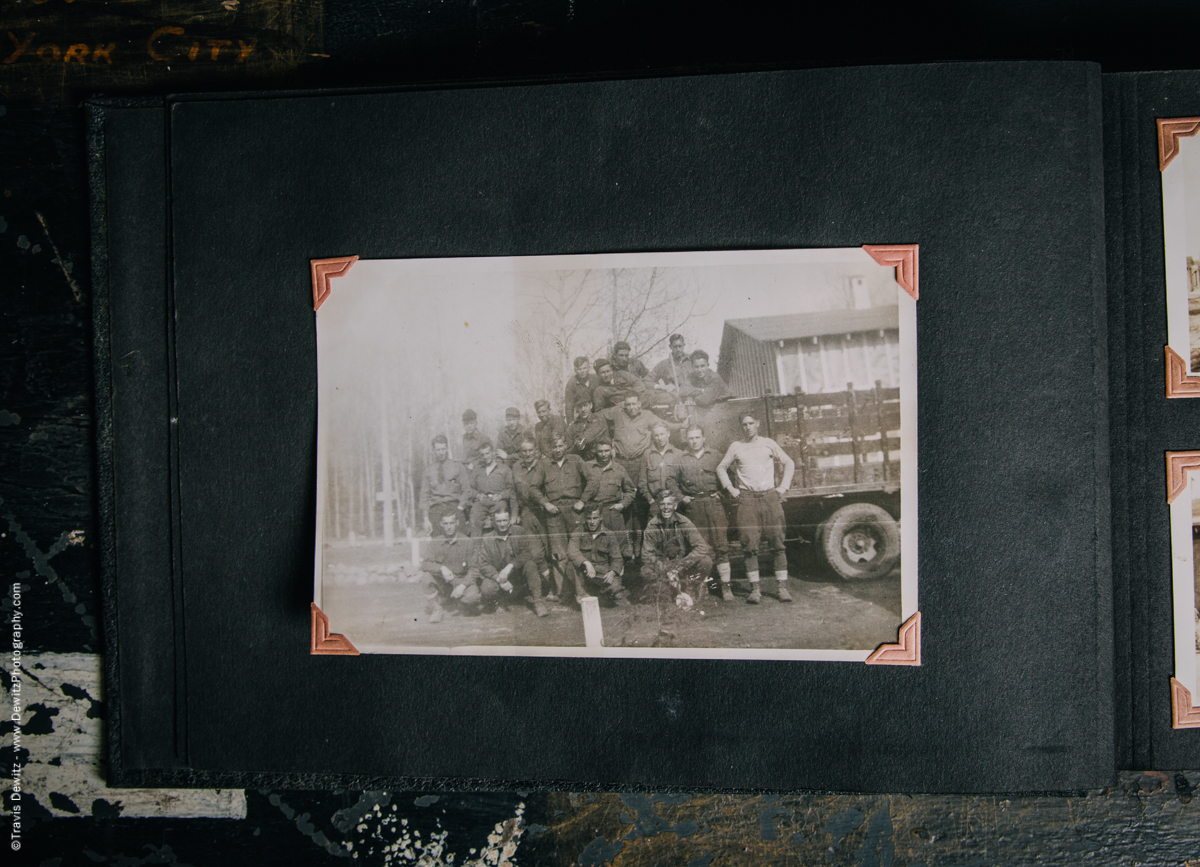 Antique War Photo Album-5100