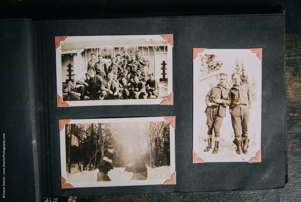 Antique War Photo Album-5103