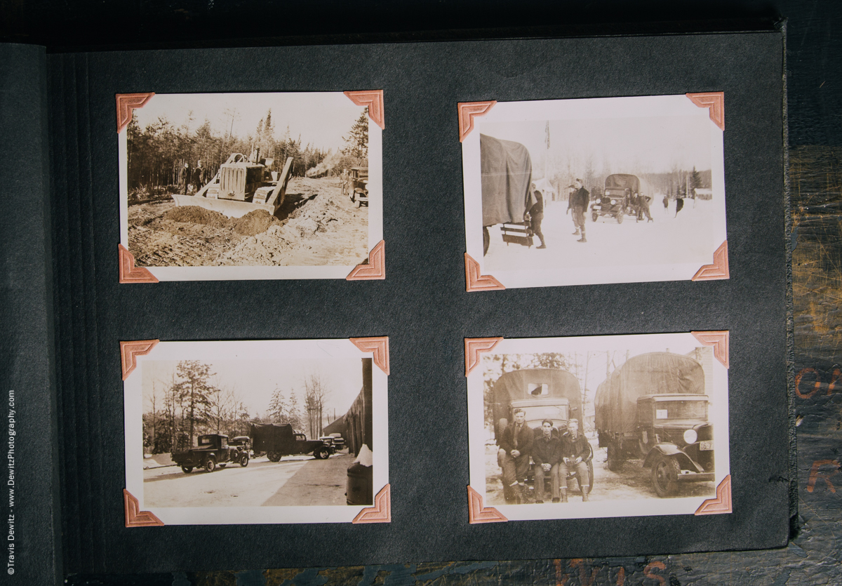 Antique War Photo Album-5105