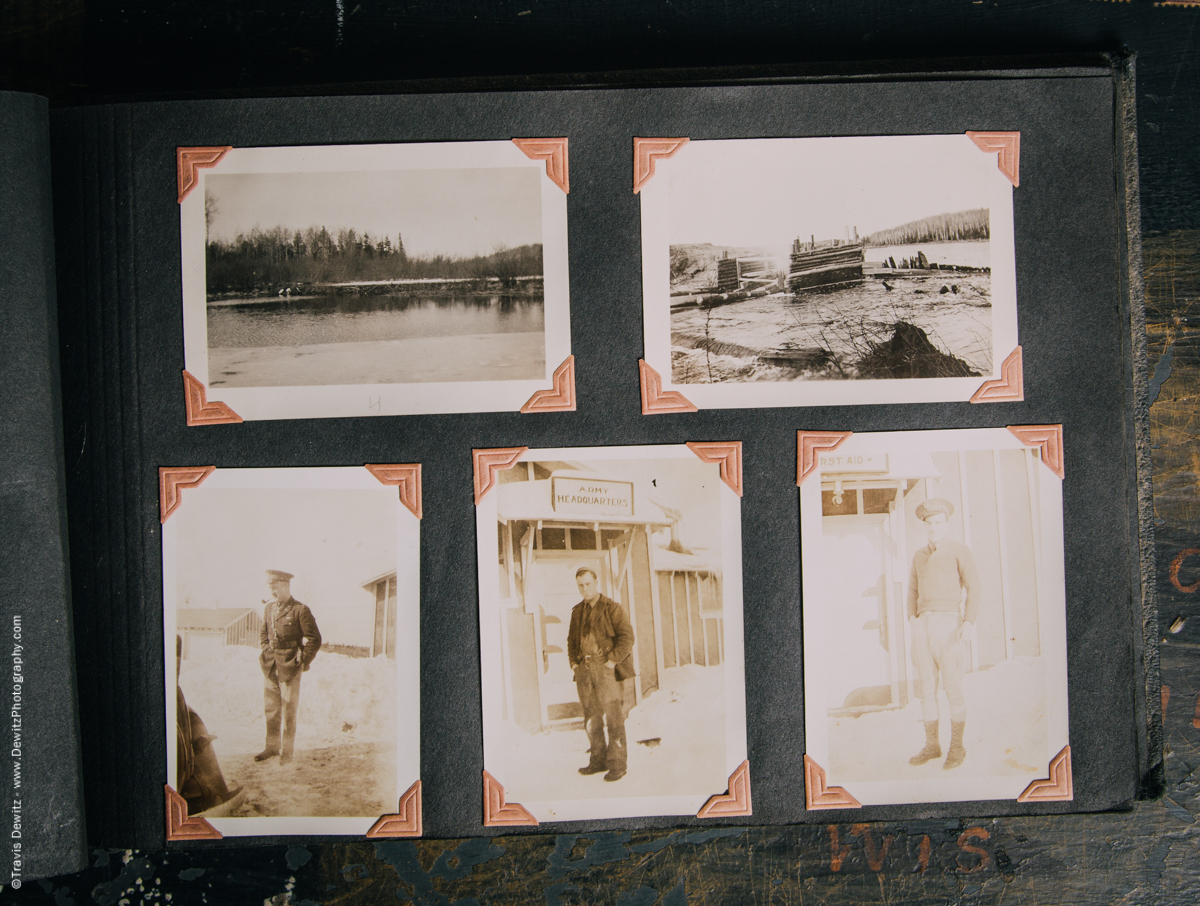 Antique War Photo Album-5109