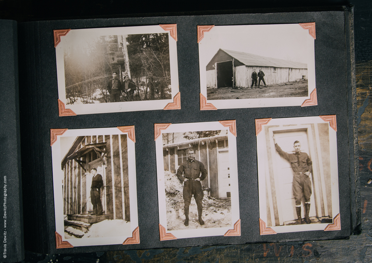 Antique War Photo Album-5110