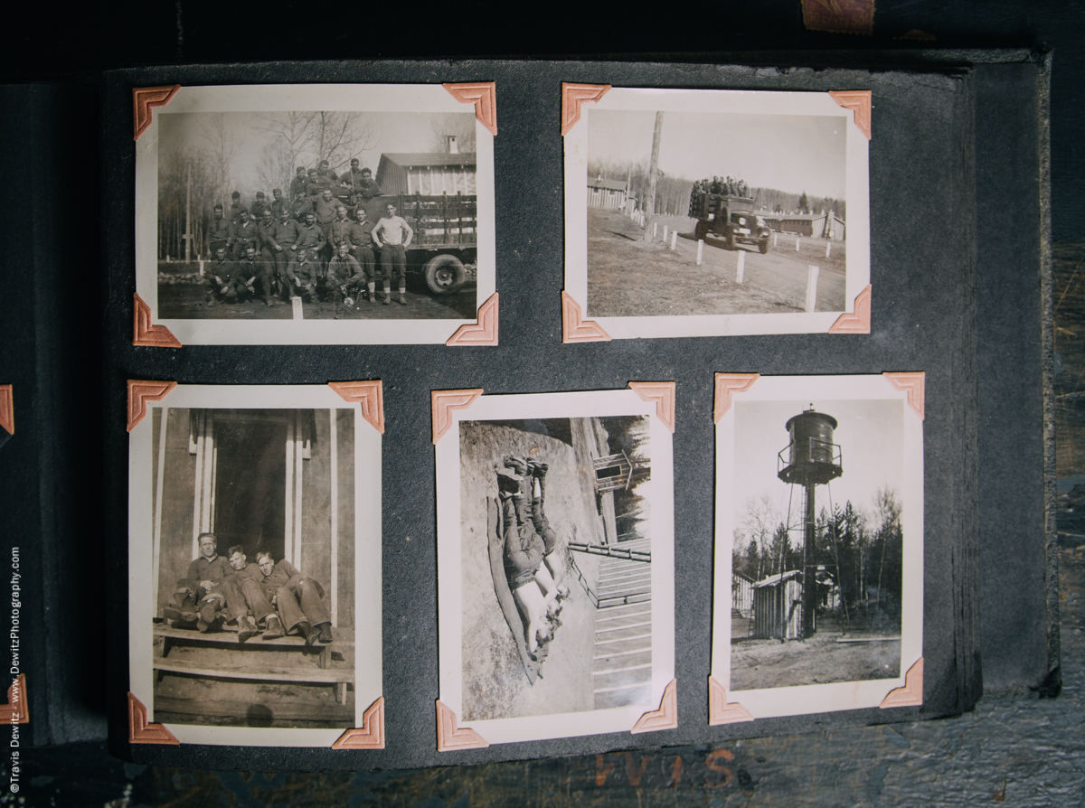 Antique War Photo Album-5113