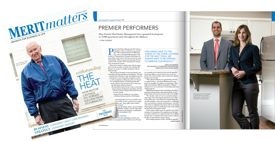 MeritMatters Magazine Premier Performers Article