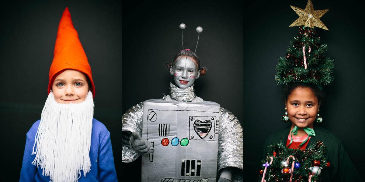 Halloween-Costume-Portrait-nome-robot-xmas-tree