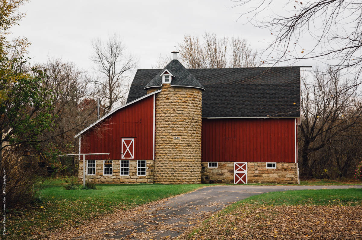 beautiful-red-barn-and-stone-silo-1911-falls-city-wi-historic-ci