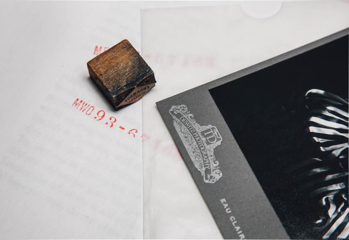 dewitz photography vintage branding set cabinet card letterpress-2425