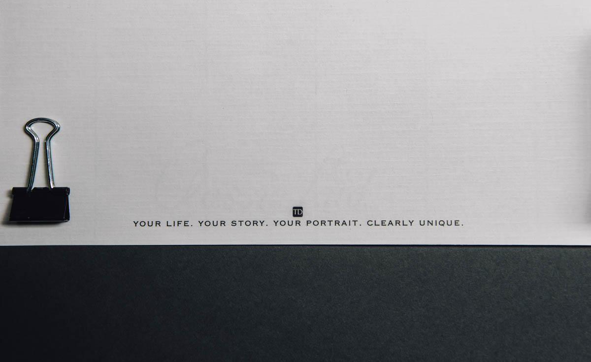 dewitz photography vintage branding set letterhead footer design your life your story your portrait-2403
