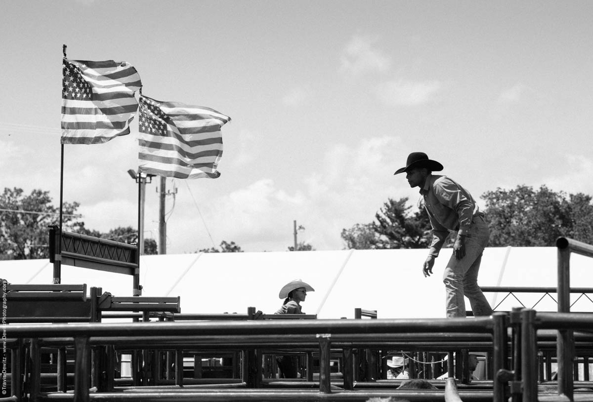 10-Cowboy Walking Across Corral-2721