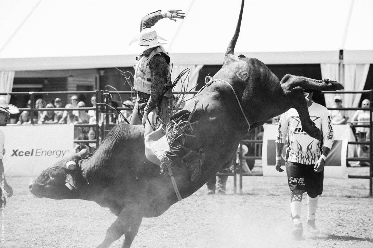 Bull Rider Hand Up-2877