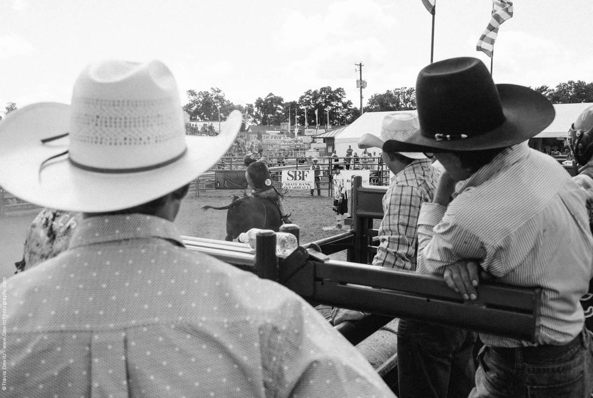Bull Riders Watch Bull Ride-3272