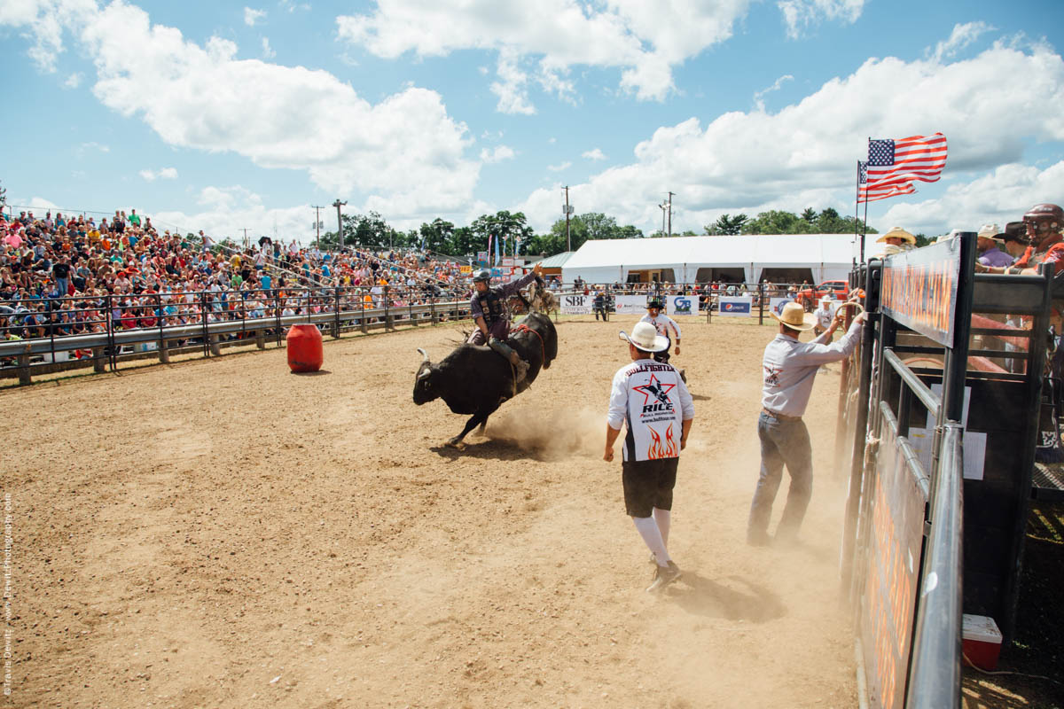 Rice Bull Riding Arena Northern Wisconsin State Fair-3037