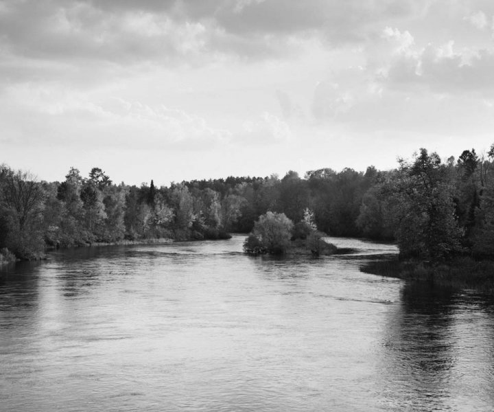 No. 8967 - Chippewa River - Winter, Wis.