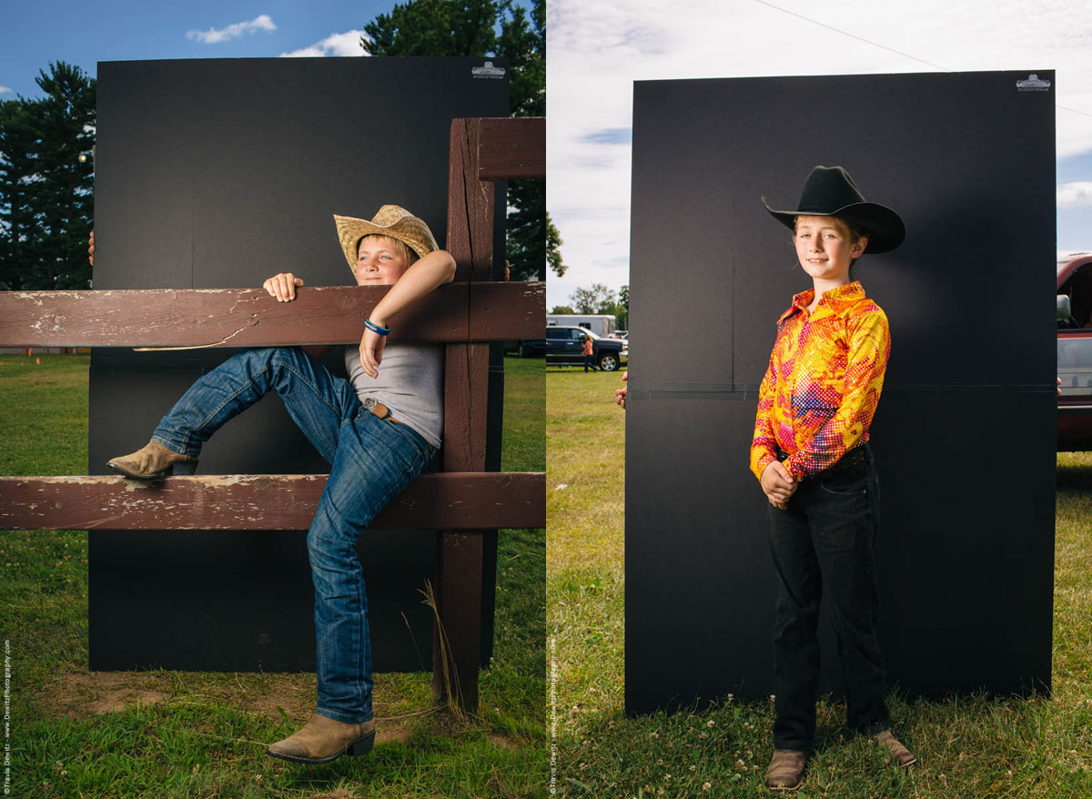 young-boy-poses-as-cowboy-on-fence-hat-and-boots-northern-wisconsin-state-fair-2265-western-girl-cowboy-hat-portrait-northern-wisconsin-state-fair-1827