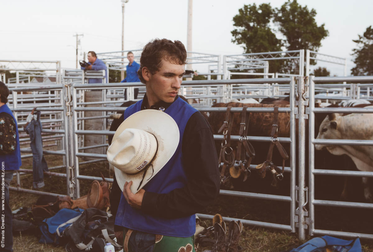 Rodeo Faces College Cowboy And Cowgirl Portraits